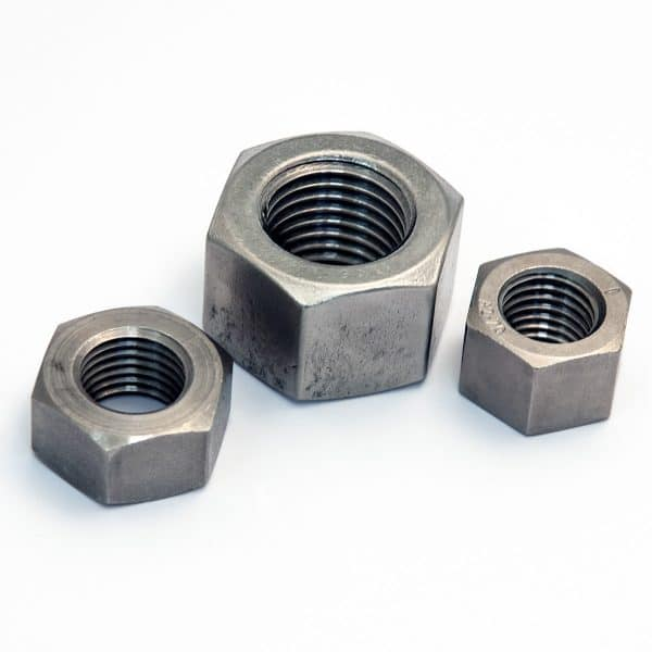 High hexagonal nuts