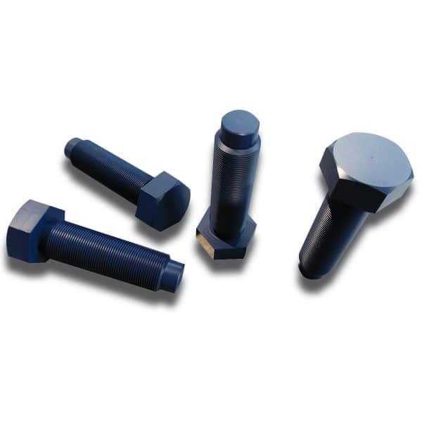 Drawing hexagonal teflon-coated screws