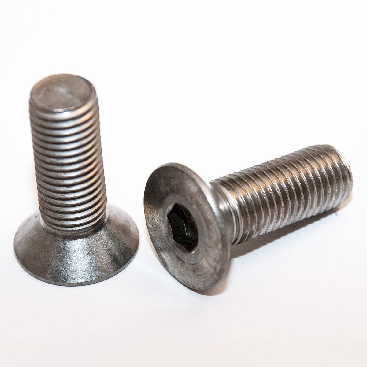 Socket hexagonal flat countersunk head screws